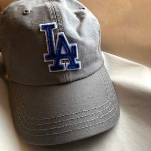 '47 grey LA Dodgers baseball cap
